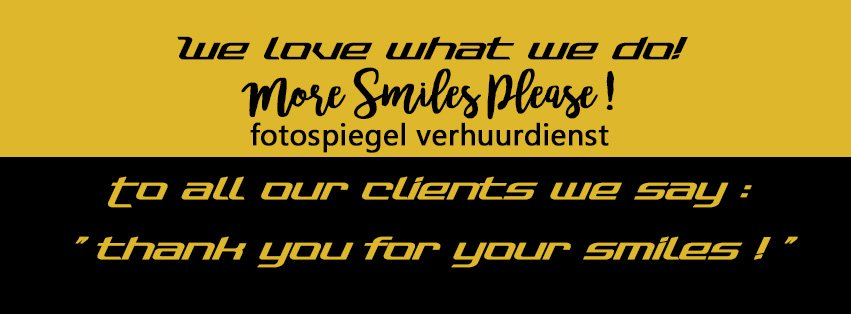 WE LOVE WHAT WE DO!